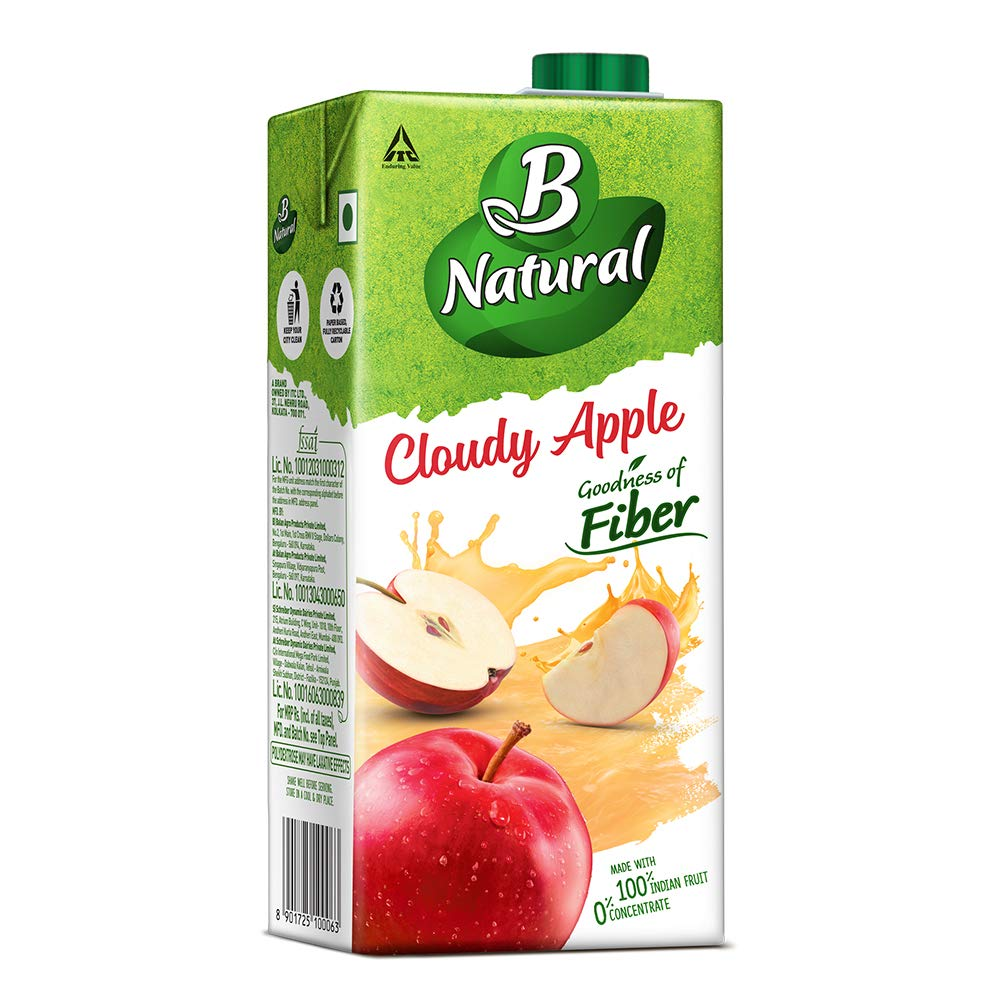 B-NATURAL APPLE AWE 1L