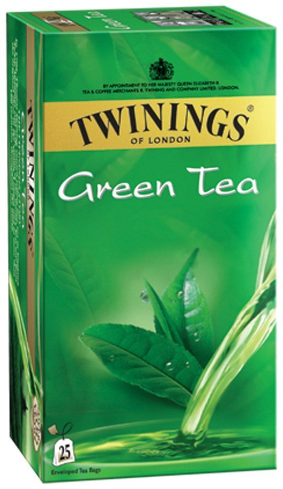 TWININGS GREEN TEA MIN 25BAG