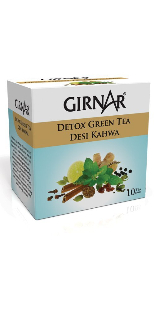 GIRNAR DETOX GREEN TEA 25G 10