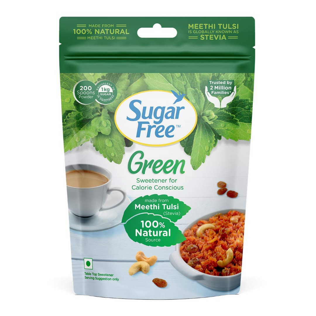 Sugarfree Green 100% Natural Made From Stevia - 200gm Pouch
