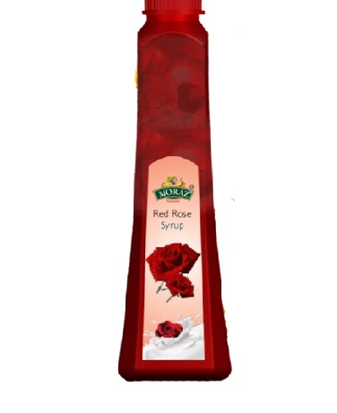 MORAZ SYRUP RED ROSE 1000ML