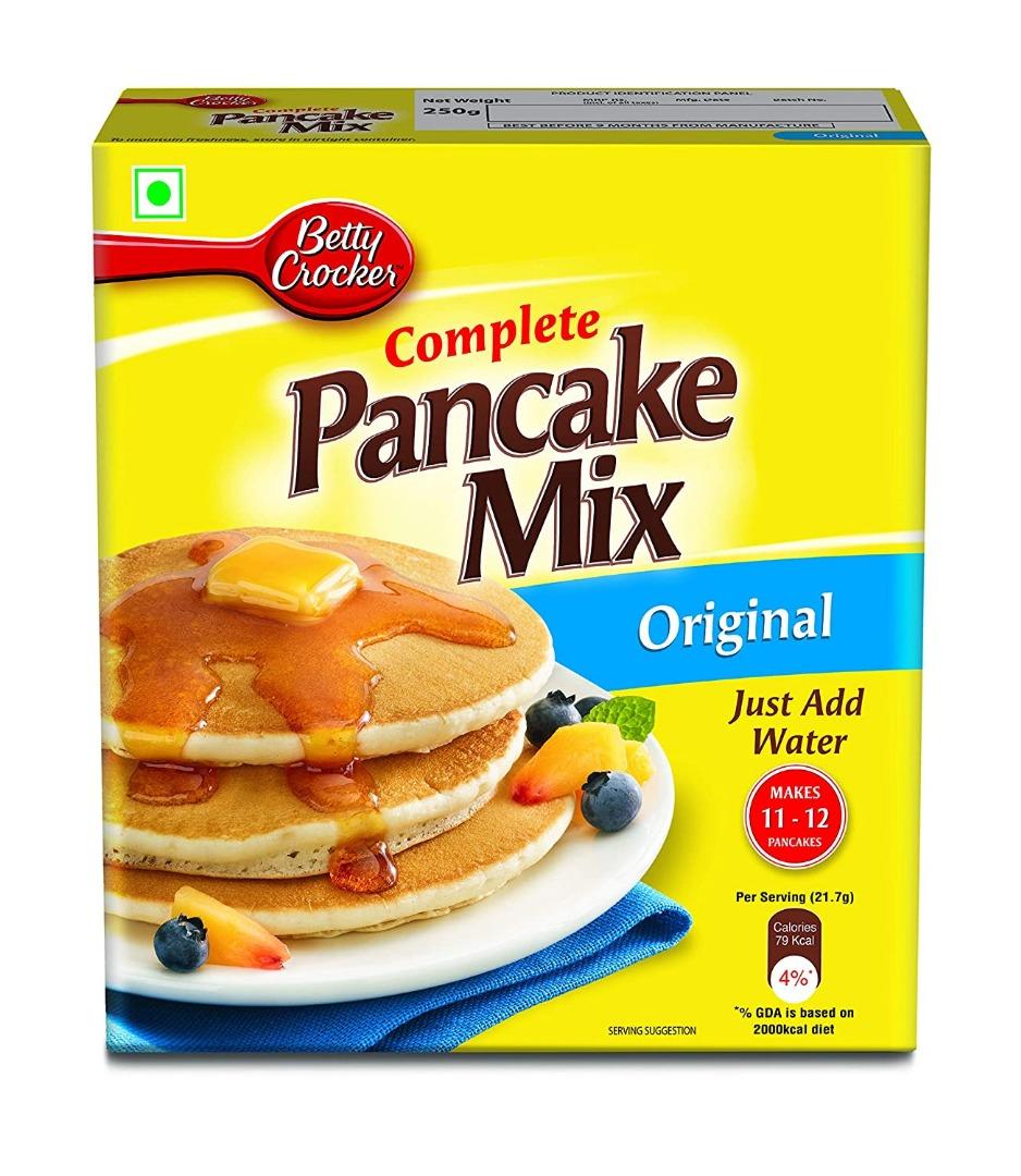 Betty Crocker Pancake Mix, Original, 250 gm