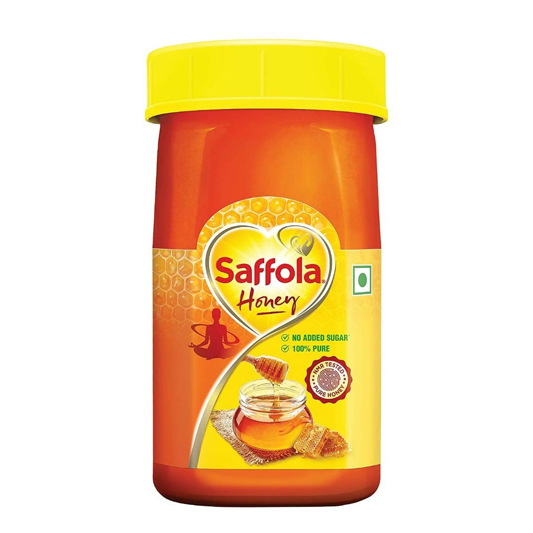 SAFFOLA HONEY 500GM GLASS