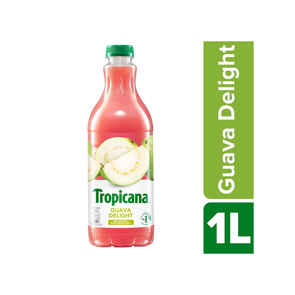 TROPICANA GUAVA JUICE BOTT 1L