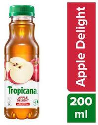 TROPICANA JUIC APPLE 200M BTL