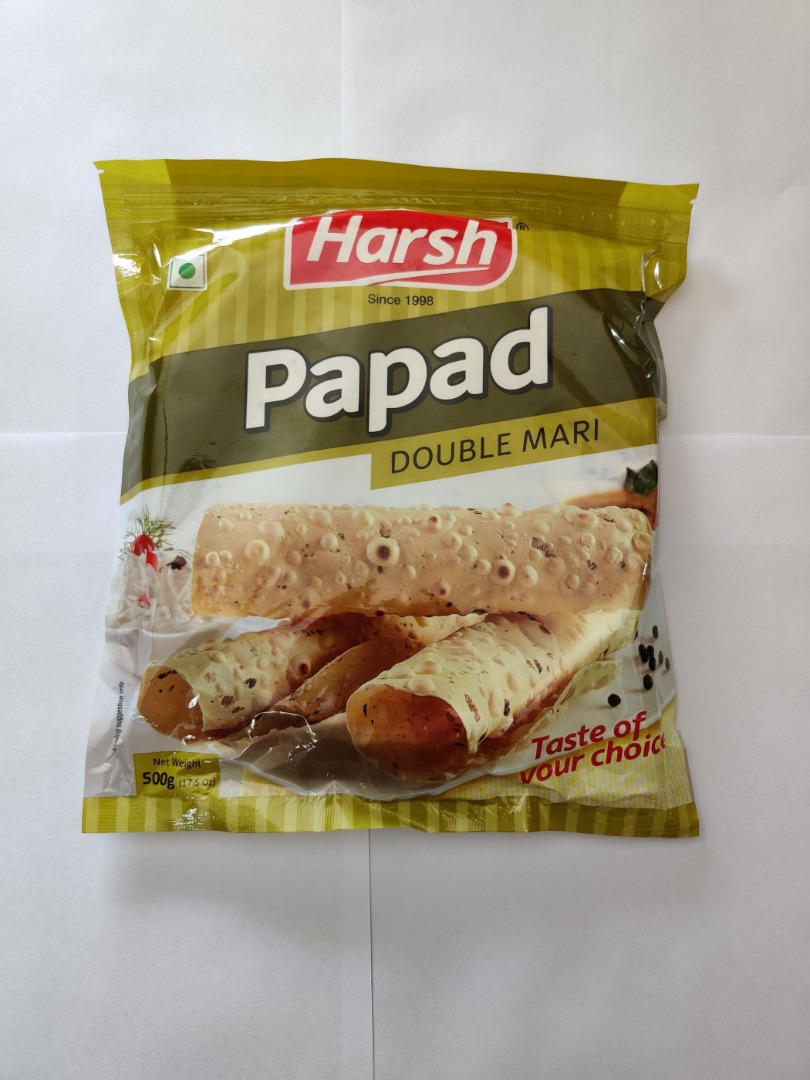 HARSH DOUBLE MARI PAPAD 500GM