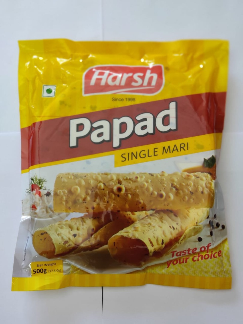 HARSH PAPAD SINGLE MARI 500GM