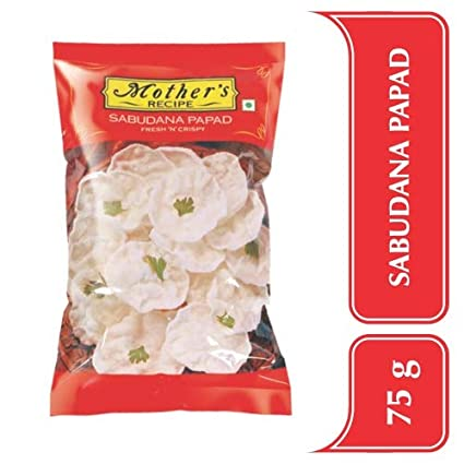 MOTHER'S SABUDANA PAPAD 75G