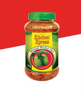 Kitchen Xpress Mango Pickle, 400gms
