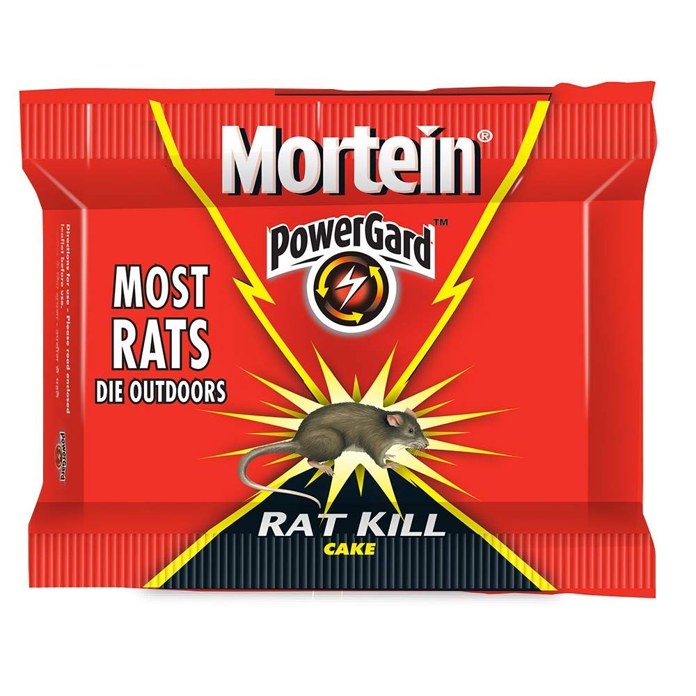 Mortein Power Gard Rat Kill Cake - 100g Pack